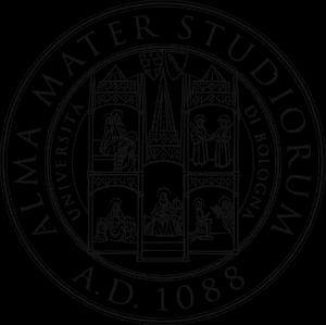 Lo stemma dell'università di Bologna