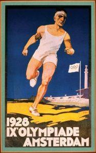 Il manifesto delle Olimpiadi di Amsterdam 1928