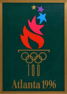 Il manifesto delle Olimpiadi di Atlanta 1996