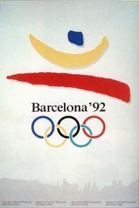 Il manifesto delle Olimpiadi di Barcellona 1992