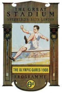 Il manifesto delle Olimpiadi di Londra 1908