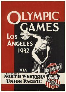 Il manifesto delle Olimpiadi di Los Angeles 1932