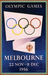 Il manifesto delle Olimpiadi di Melbourne 1956
