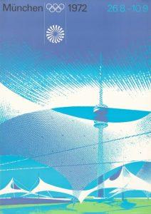 Il manifesto delle Olimpiadi di Monaco 1972