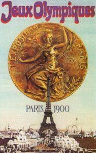 Il manifesto delle Olimpiadi di Parigi 1900