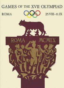 Il manifesto delle Olimpiadi di Roma 1960
