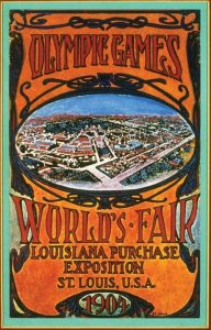 Il manifesto delle Olimpiadi di St. Louis 1904