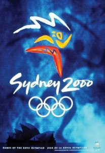Il manifesto delle Olimpiadi di Sydney 2000