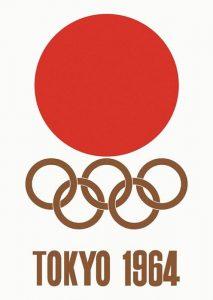 Il manifesto delle Olimpiadi di Tokyo 1964