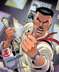 J. Jonah Jameson, storico editore del Daily Bugle e nemico di Spider-Man