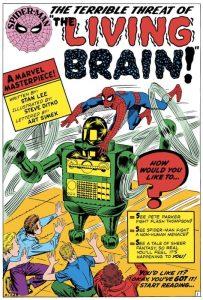 Il Cervello Vivente nel disegno di Steve Ditko