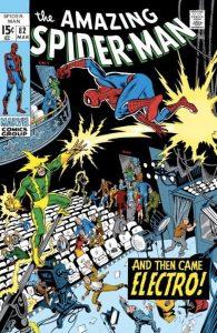 Electro contro Spider-Man