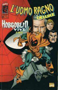 Hobgoblin sulla copertina de L'Uomo Ragno Deluxe