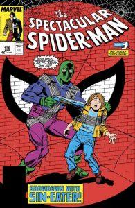 Il Mangiapeccati su una copertina di The Spectacular Spider-Man