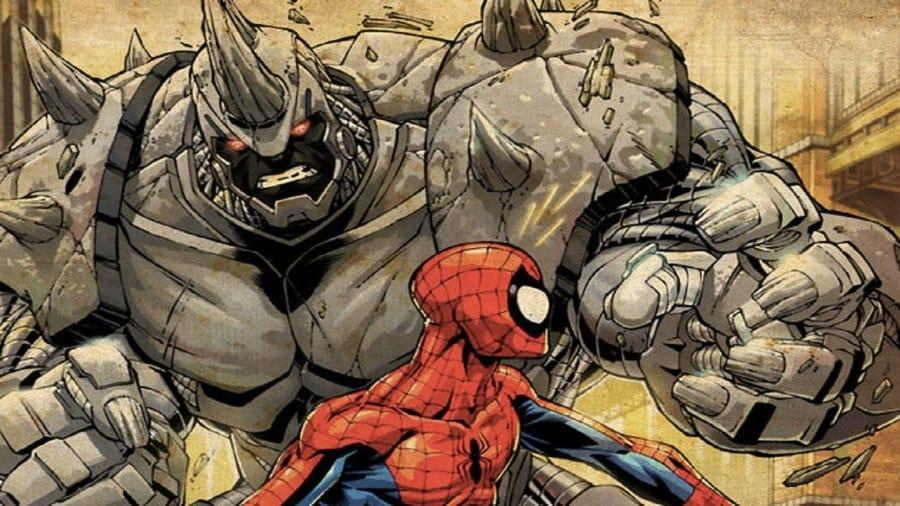 Rhino e Spider-Man