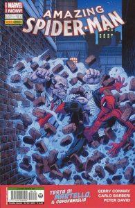 Testa di Martello sulla copertina di un numero di Amazing Spider-Man