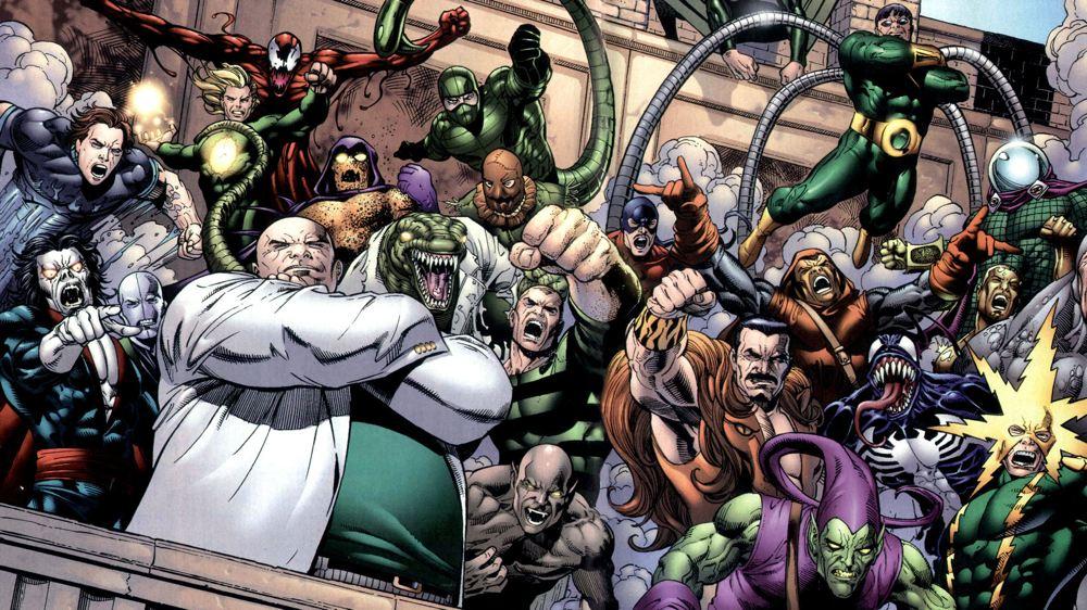Tutti i principali nemici di Spider-Man