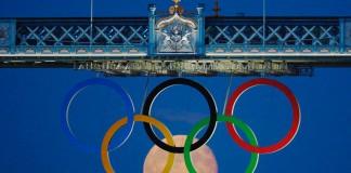 Una suggestiva immagine dalle Olimpiadi di Londra 2012