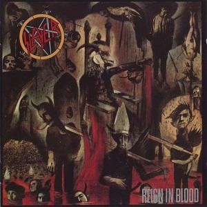 La copertina di Reign in Blood degli Slayer, primo grande album prodotto da Rick Rubin