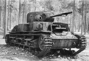 Un tipico carro armato sovietico