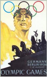 Il manifesto delle Olimpiadi di Berlino 1936