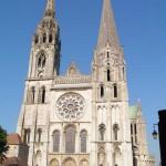 La facciata della Cattedrale di Chartres