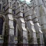 L'esterno tipicamente gotico della Cattedrale di Chartres