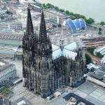 La Cattedrale di Colonia vista dall'alto (foto di Neuwieser via Flickr)