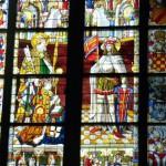 Una vetrata a Colonia