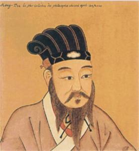 Un ritratto di Confucio