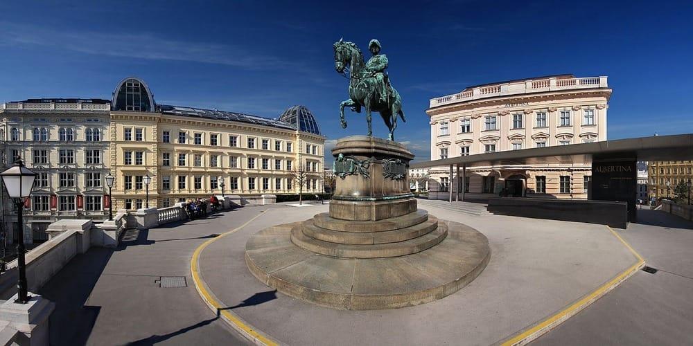 Il Palazzo dell'Albertina a Vienna