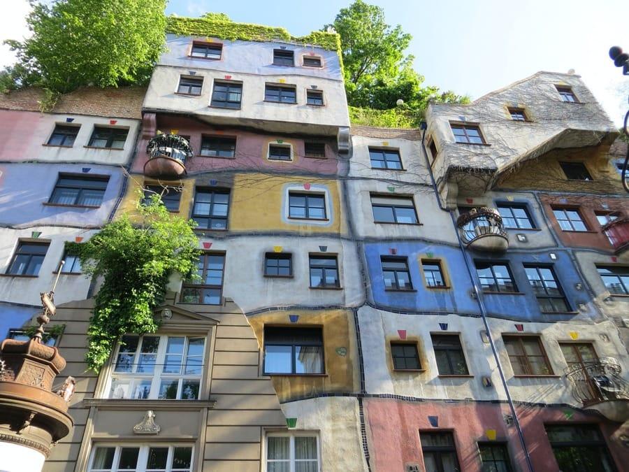 L'Hundertwasserhaus a Vienna