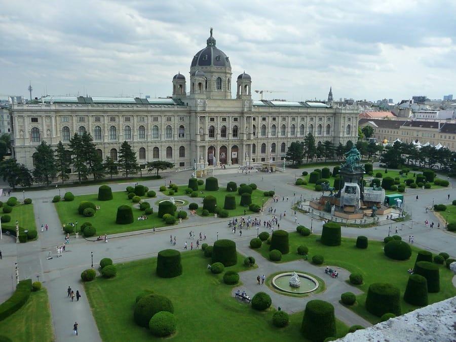 L'esterno del Kunsthistorisches Museum