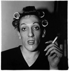 A Young Man in Curlers at Home on West 20th Street, New York