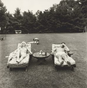 A Family on their Lawn One Sunday in Westchester, N.Y., 1968