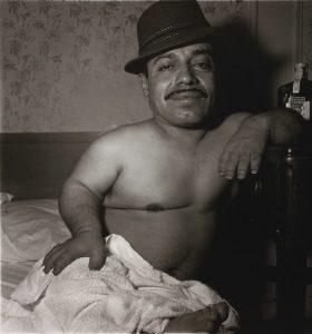 Mexican Dwarf in his Hotel Room, N.Y.C., 1970