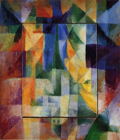 Finestre simultanee sulla città, capolavoro del 1912 del cubismo orfico di Robert Delaunay