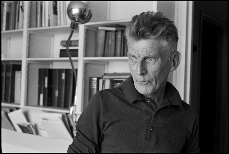 Samuel Beckett immortalato da Henri Cartier-Bresson