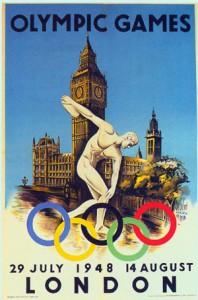 Il manifesto delle Olimpiadi di Londra 1948