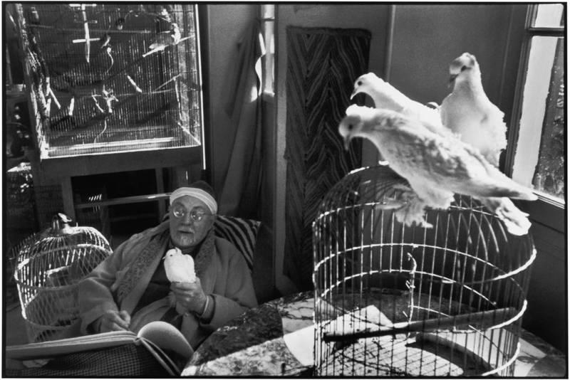 Henri Matisse ritratto da Henri Cartier-Bresson