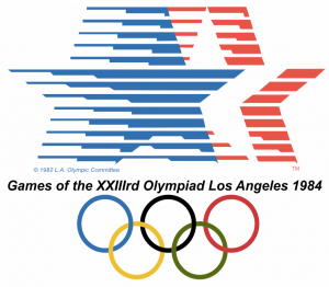 Il logo di Los Angeles 1984