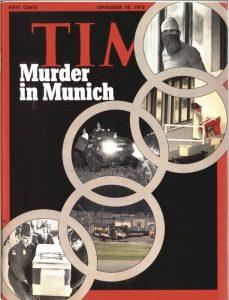 La copertina di Time sul massacro di Monaco del 1972