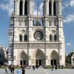 La facciata di Notre Dame a Parigi (foto di Tristan Nitot via Wikimedia Commons)