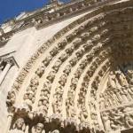 Portale di Notre-Dame a Parigi