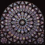 Un rosone a Notre-Dame