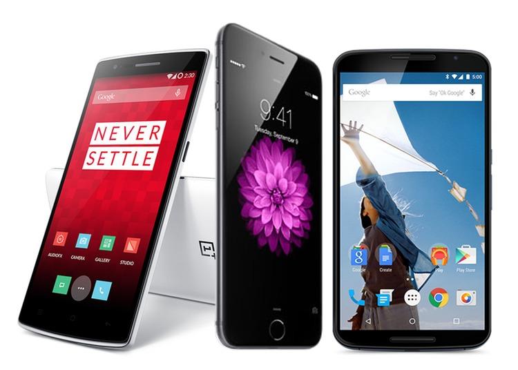 L'anno dei phablet: iPhone 6 Plus, Nexus 6, OnePlus One