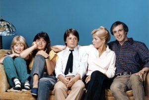 I Keaton, tra cui spicca un giovane Michael J. Fox