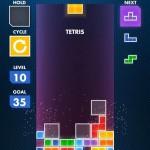 Tetris in azione