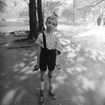 Child with Toy Hand Grenade in Central Park, New York