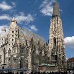 Il Duomo di Vienna (foto di Andrew Bossi via Wikimedia Commons)